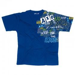 T-shirt Axo Pattern