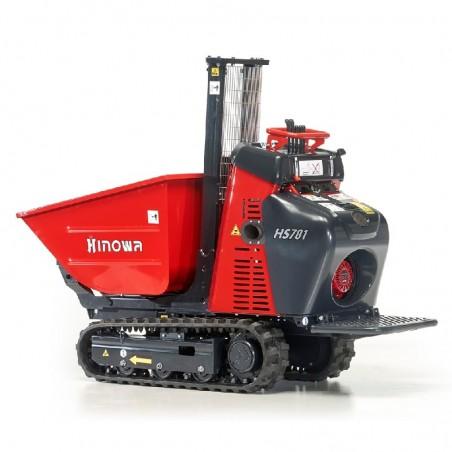Minidumper Hinowa HS701 - Edile con scarico alto Diesel