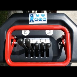 Minidumper Hinowa HS701 - Edile con scarico alto a benzina