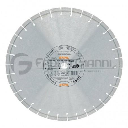 Disco da taglio diamantato universale D-SB80 Stihl