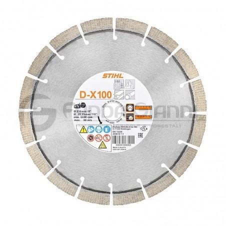 Disco da taglio diamantato universale D-X100 Stihl
