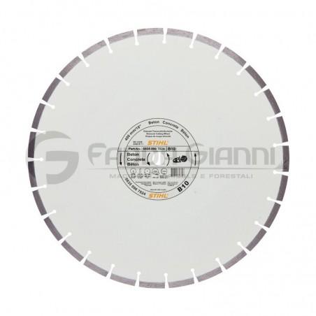 Disco da taglio diamantato per cemento D-B10 Stihl