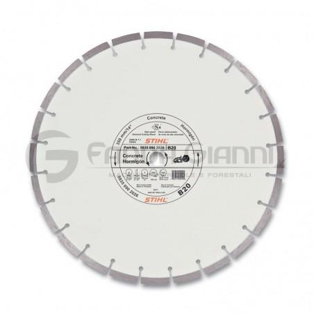 Disco da taglio diamantato per cemento D-B20 Stihl