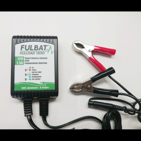 Caricatore Fulload 1500 per batterie da 12 V