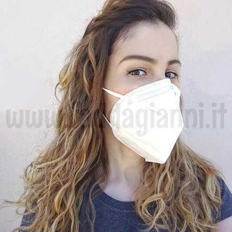 Mascherina filtrante FFP2 - DPI certificato
