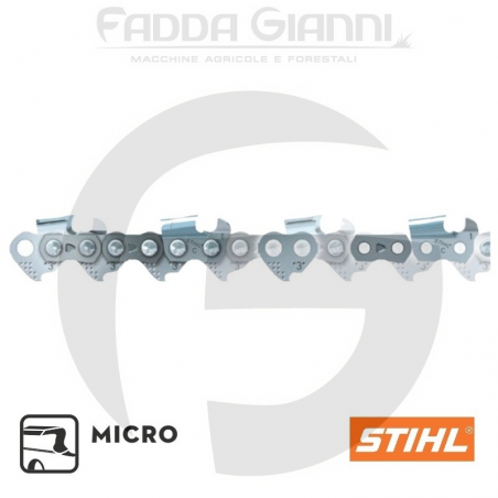 "Catena Stihl Micro - 0.325"" - 1,3 mm - 81 maglie, per spranga da 50 cm"