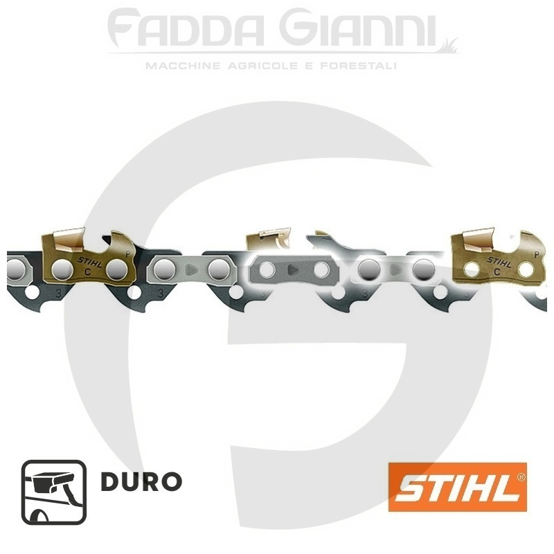 "Catena Stihl Duro 3 - 3/8"" - 1,6 mm - 72 maglie, per spranga da 50 cm"